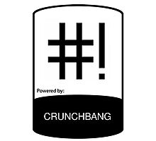 powered by ChunchBang ! Photographic Print