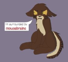 Surrounded By Mousebrains Kids Tee