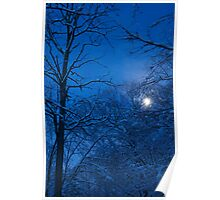 Snowstorm Moonrise Poster