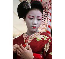 Maiko Umeraku 梅らく Photographic Print
