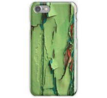 Flakey paint iPhone Case/Skin