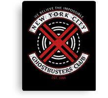 NYC Ghostbusters Club Canvas Print