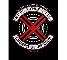 NYC Ghostbusters Club Photographic Print