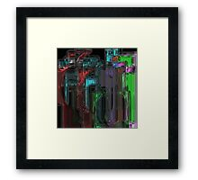Triolaxcity Framed Print