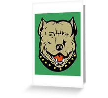 PIT BULL-23 Greeting Card