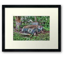 The Cruiser Framed Print