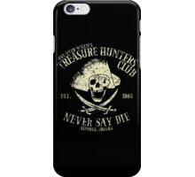 Treasure Hunters Club iPhone Case/Skin