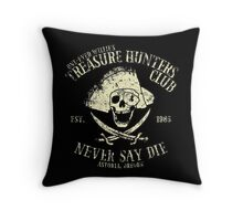Treasure Hunters Club Throw Pillow