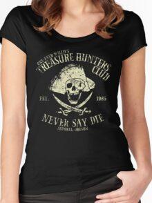 Treasure Hunters Club Women's Fitted Scoop T-Shirt