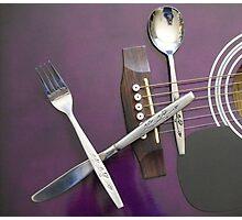 Cutlery Photographic Print