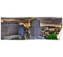 Wow What A View (Panoramic HDR) - Moods Of A City - The HDR Experience Poster