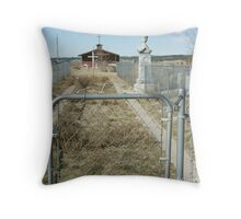 My Heart is Buried at Wounded Knee Throw Pillow