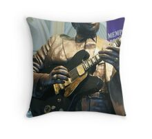 Chuck Berry lives Forever ! Throw Pillow