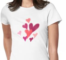 Tugging My Heart Strings Womens Fitted T-Shirt