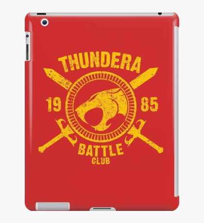 Thundera Battle Club iPad Case/Skin