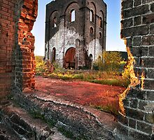 Blast Furnace Framed by Annette Blattman