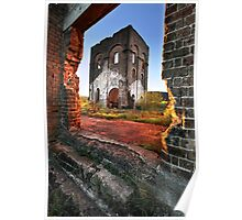 Blast Furnace Framed Poster