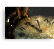 Grandpa's Pocket Watch Metal Print