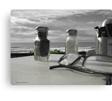 Salt and Pepper Vision Canvas Print