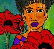 She Loves Poppies by © Angela L Walker