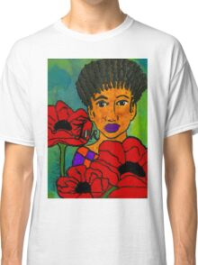 She Loves Poppies Classic T-Shirt
