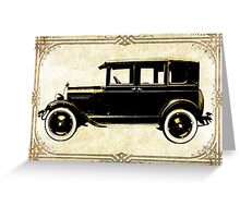 1927 Chevy Greeting Card