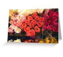 A Gift of Roses Greeting Card
