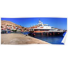 Volare Motor Yacht Poster