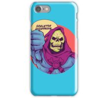 Skeletor disapprove iPhone Case/Skin