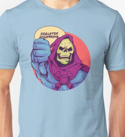 Skeletor disapprove Unisex T-Shirt
