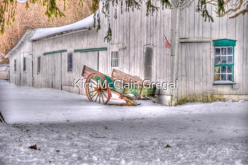 The Wagon by Kim McClain Gregal