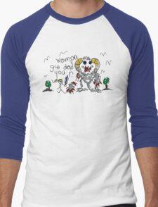 Wampa Gud Dad You R. Men's Baseball ¾ T-Shirt