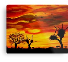 Colours of the Top End Metal Print