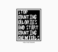 STOP COUNTING CALORIES Womens Fitted T-Shirt