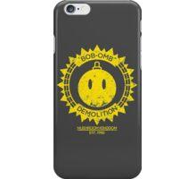 Bob-omb Demolition iPhone Case/Skin
