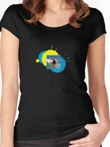 Speed Slash Women's Fitted Scoop T-Shirt