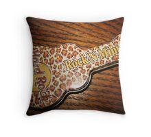 Hard Rockin Mints  Throw Pillow