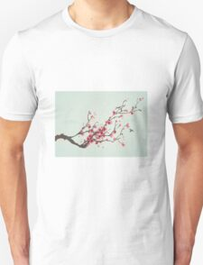 Whimsical Pink Cherry Blossom Tree T-Shirt
