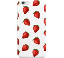 Strawberry delight iPhone Case/Skin