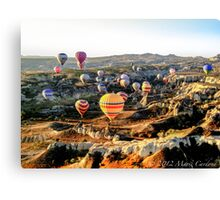 Hot Air Balloons - Cappadocia, Turkey Canvas Print