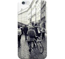 Daily life in Prague iPhone Case/Skin