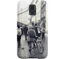 Daily life in Prague Samsung Galaxy Case/Skin