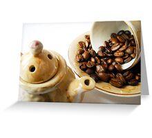 Coffee. Greeting Card