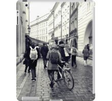 Daily life in Prague iPad Case/Skin