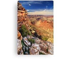 A Stones Throw To The Grand Canyon Canvas Print