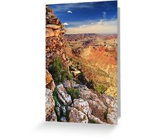 A Stones Throw To The Grand Canyon Greeting Card