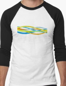 Linux Rainbow Men's Baseball ¾ T-Shirt