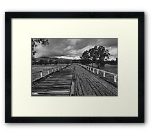 Gundagai Bridge Framed Print
