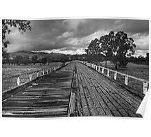 Gundagai Bridge Poster
