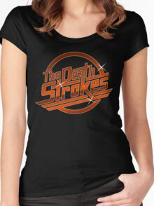 The Deathstrokes Women's Fitted Scoop T-Shirt